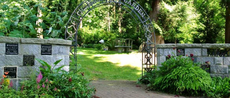 Robinson Memorial Park Children's Garden Entry