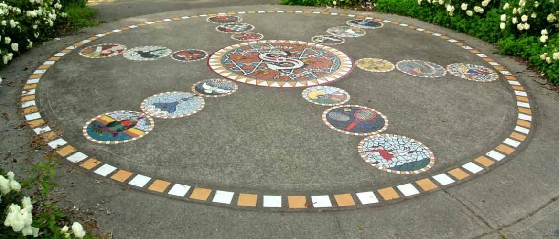 Strathcona Park Entry Mosaic