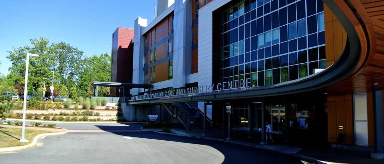 Jim Pattison Outpatient Care and Surgery Centre Entrance