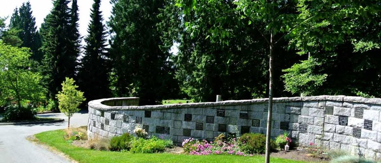 Robinson Memorial Park Niche Wall