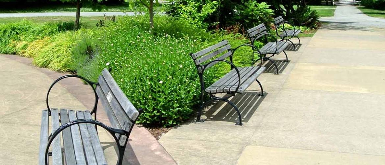Korean War Memorial Planting and Furniture
