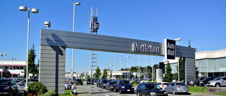Northshore Auto Mall Entrance