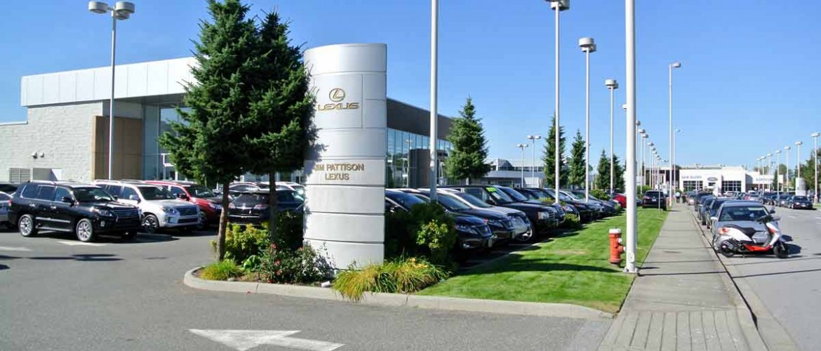 Northshore auto mall north vancouver bc pd group for Bc landscape architects